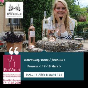 Prowein 2019 – Retrouvez-nous ! Join us !