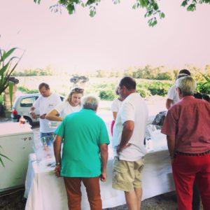Retour en image – Les Musicales dans les vignes – concert de Jazz dans le parc du Château 8 Aôut 2019